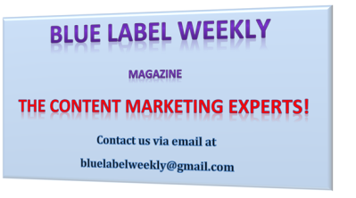 blue label weekly the content marketing experts plain
