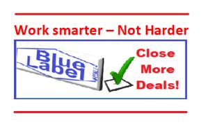 work smarter not harder Blue Label Weekly