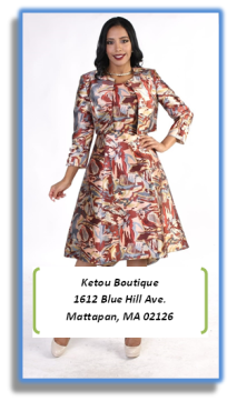 Ketou Boutique Women Clothing and Apparel in Boston, MA, 1612 Blue Hill Ave. Mattapan, MA 02126 https://ketouboutiquelaunchpad.wordpress.com/