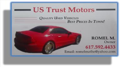 US Trust Motors Quality Used Vehicles, Best Prices In Town!, US Trust Motors Quality Used Vehicles Contact: 617.592.4433. https://ustrustmotors.wordpress.com/